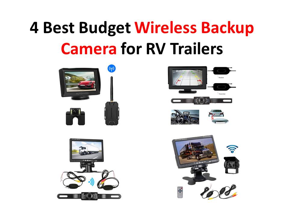 4 Best Budget Wireless Backup Camera for RV