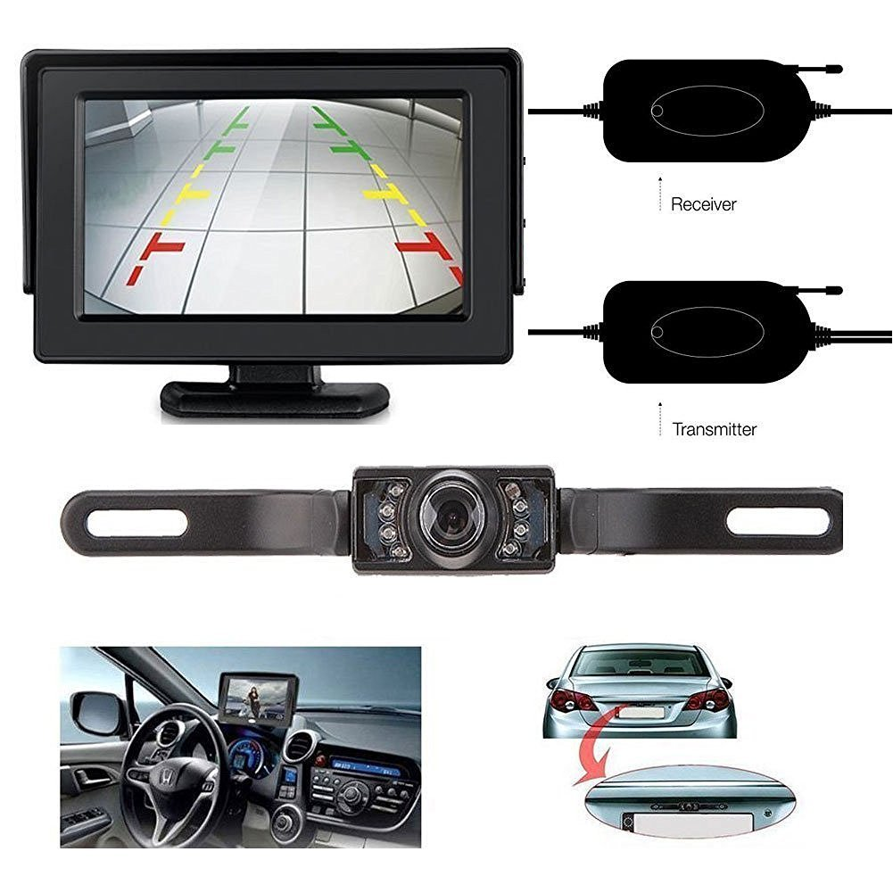4 best budget wireless backup camera for rv trailers rv essential. Black Bedroom Furniture Sets. Home Design Ideas