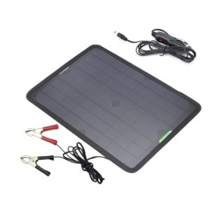 ALLPOWERS 10W Portable Solar Panel Battery Charger Maintainer