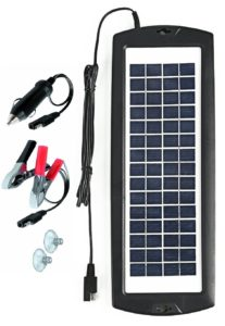Sunway Solar Car Battery Charger 12V Battery Trickle Charger Maintainer